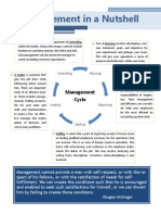 management lesson handout