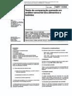 NBR 13088 - Teste de Comparacao Pareada Em Analise Sensorial Dos Alimentos E Bebidas (1)