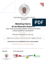 Marketing Interno de los Recursos Humanos