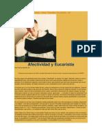 Afectividad y Eucaristía