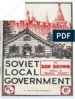 Soviet Local Goverment