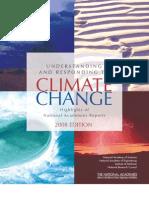 Understanding & Responding To Climate Change report