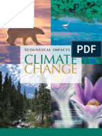 Ecological Impacts of Climate Change report