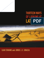 Thirteen Ways of Looking at Latino Art by Ilan Stavans and Jorge J. E. Gracia