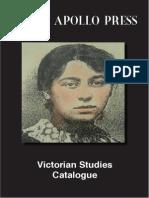 Victorian Studies Catalogue