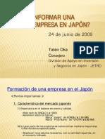 Como fundar una empresa- JETRO - Tateo Oka[1]