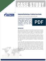 Gazprom Case Study