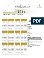 RR 2014 Calendar