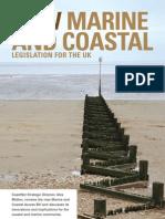 Aug 2009 - New marine and coastal legislation for the UK