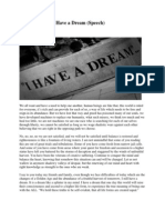 I Have a Dream By Anthos El Ma'at Ra