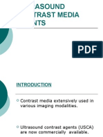 Ultrasound Contrast Media Agents