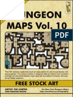 Dungeon Maps Vol #10