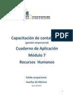 Manual de Contabilidad Mod. 7 Recurso Humanos