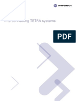 Interconnecting TETRA Systems