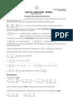 Guía sobre Regla de Cramer