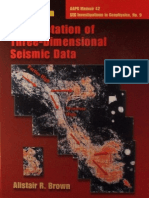 Interpretation of Three D Siesmic DATA
