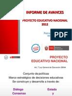 14 de Octubre Del 2013 Diagnostico Del Proyecto Educativo Nacional Por El Misniterio de Educacion