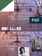 21 Septiembre, día mundial de la Enfermedad Alzheimer