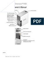 The Owner's Manual for the Dell Dimension 9150 Computer