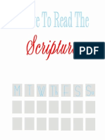 i Love to Read the Scriptures Reading Chart PDF