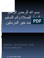 Dental Structure and Fluoridation
