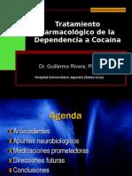 TRATAMIENTO FARMACOLOGICO DE LA ADICCIÓN A LA COCAINA