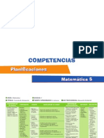 planificaciones matematica5