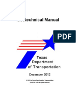 Texas Department of Transportation Geotechnical Manual 2015