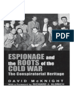 Espionage & the Roots of the Cold War