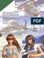 DoAx2 Manual xbox360