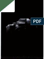 Nikon F4 Brochure