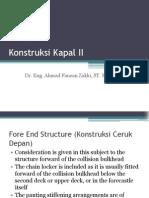 Konstruksi Kapal II