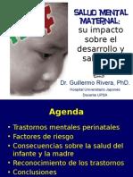 Salud Mental Maternal y su impacto en el desarrollo y salud del infante
