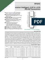 SP3243 - Sipex - RS232 Transceiver