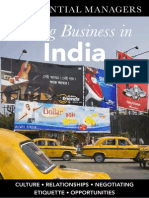 DK Essential Managers - Doing Business in India
