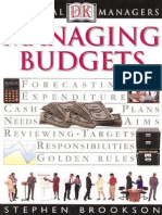 DK Essential Managers - Managing Budgets