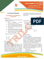 Solucionario UNI 2012-II (Aptitud Académica y Cultura General)