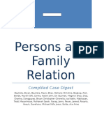 Compiled case digest in persons and family relation civil code , family code
