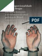 Desproporcionalidade Lei de Drogas