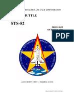NASA Space Shuttle STS-52 Press Kit