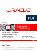 Oracle NoSQL Database Technical Introduction Presentation