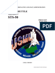NASA Space Shuttle STS-50 Press Kit