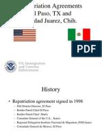 U.S. ICE Repatriation