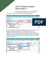 Controles ActiveX -  Botón de Opción (Adicionar Macro Parte 1).docx