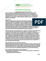 YNPN National Board Application