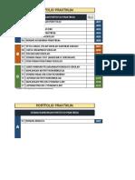 Senarai Kandungan Portoflio Praktikum
