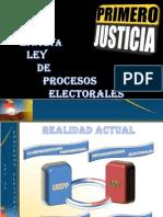 Ley de Procesos Elector Ales Presentacion