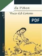 Voces del desierto - Nelida Piñon