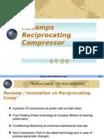 Revamps Reciprocating Compressor
