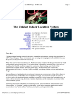 The Cricket Indoor Location System MIT-CRICKET